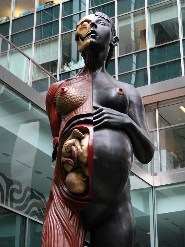 Damien Hirst, The Virgin Mother